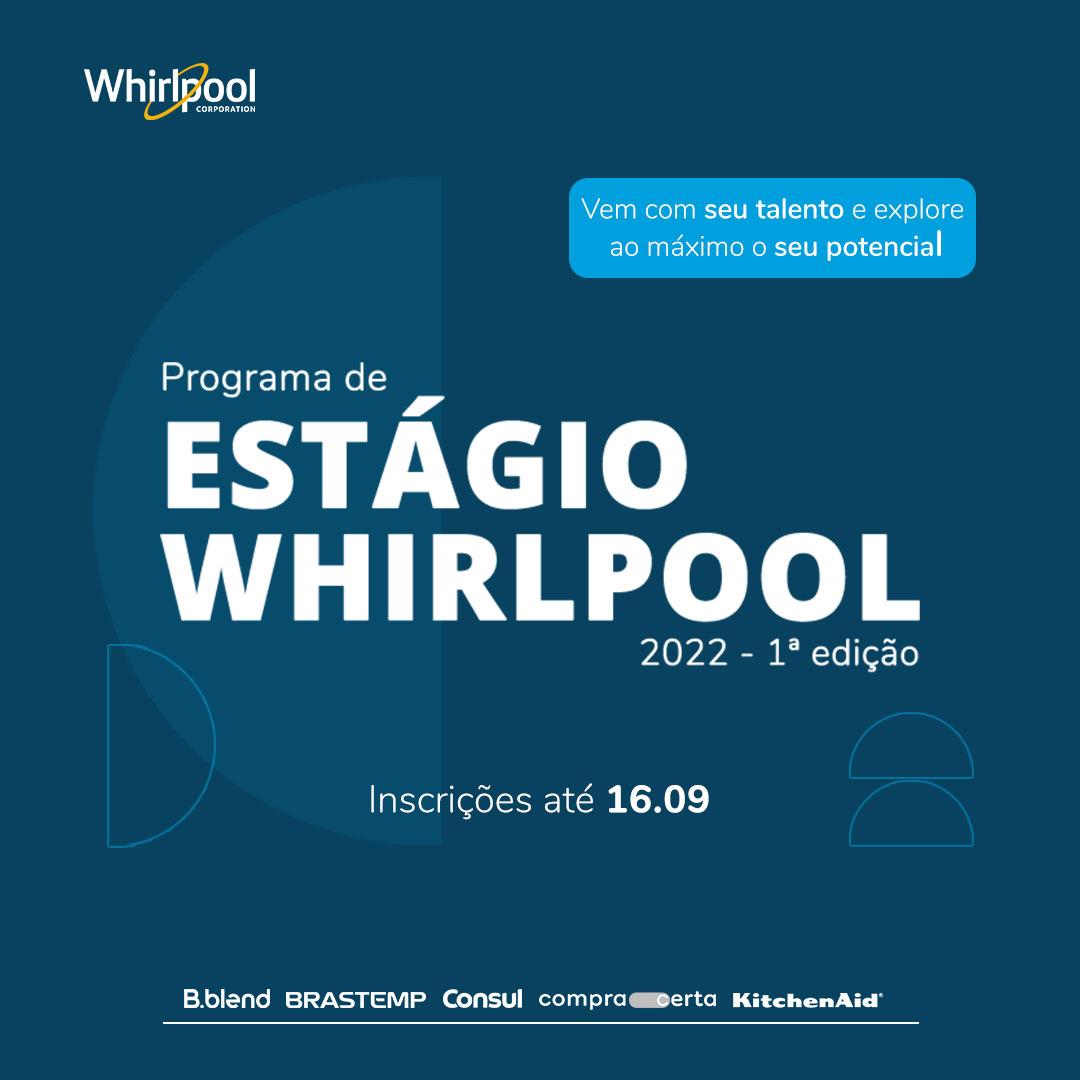 Programa de Estágio Whirlpool 2022