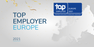 Whirlpool Corp, Certified Top Employer Europe