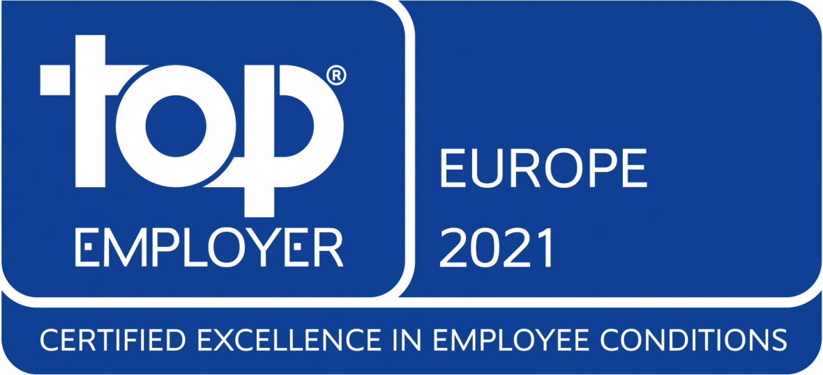 Top Employer Europe, Whirlpool Corporation 2021