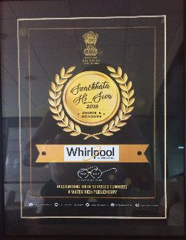 Whirlpool India CSR Award - Pondicherry Plant